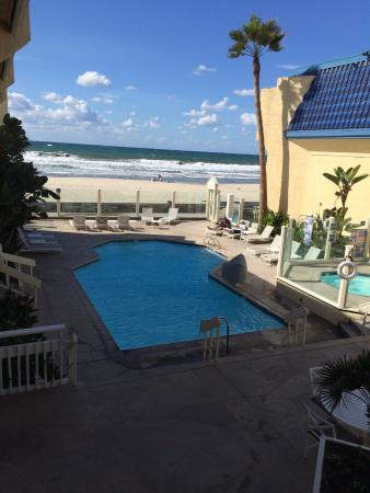 Blue Sea Beach Hotel View To Courtyard Pool And