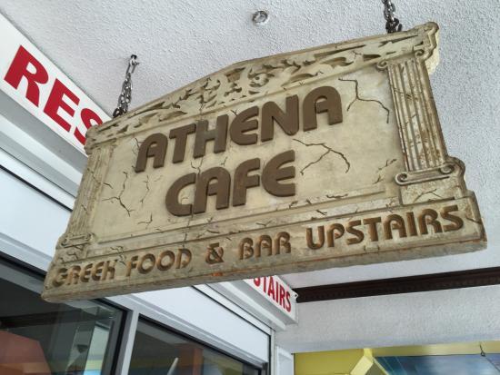 Athena S Cafe Bar Nassau Menu