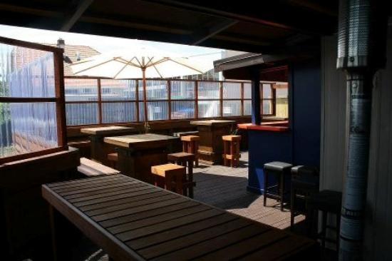 Our Backyard Pub Function area. Available for hire.