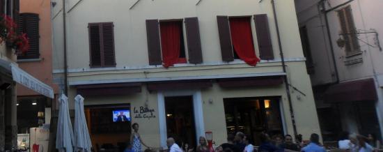 Province of Rimini, Italia: La bottega almuerzo tardio
