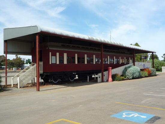 Peterborough Visitor Information Centre: Old Commonwealth Carriage (East end)