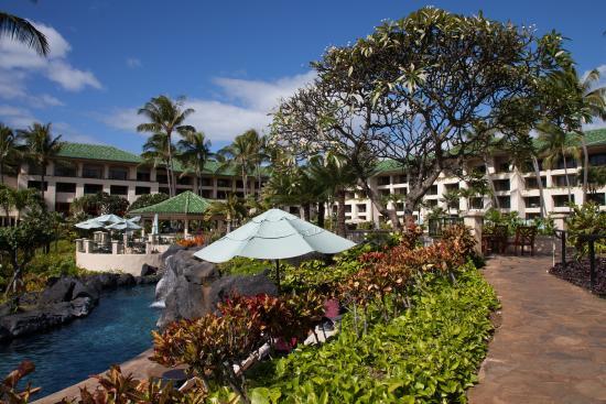 Grand Hyatt Kauai Resort Spa Hotel Grounds