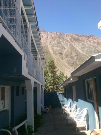 San Fernando, Cile: Vista alrededores y hostal