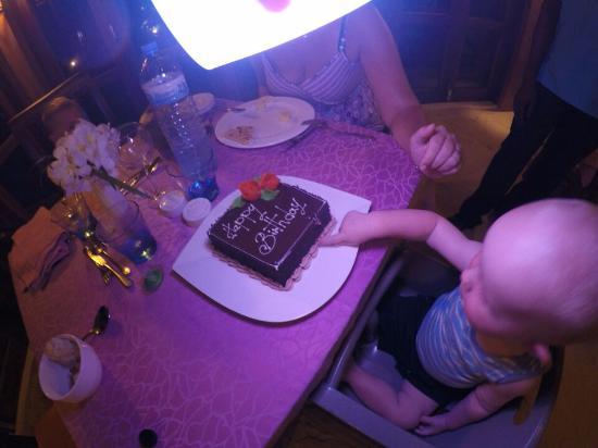 Canareef Resort Maldives: Birthday our son, 1 year