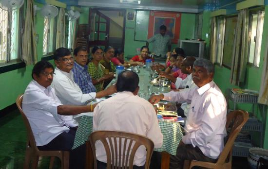 Youth Hostel Kolkata: Dining Hall