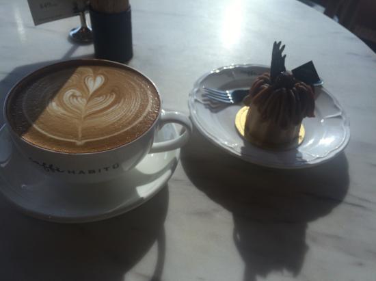 Habitu Cafe : ケーキセット