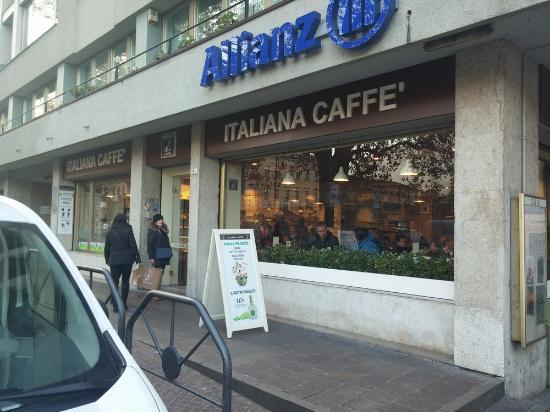 vetrina foto di italiana caff trento trento tripadvisor