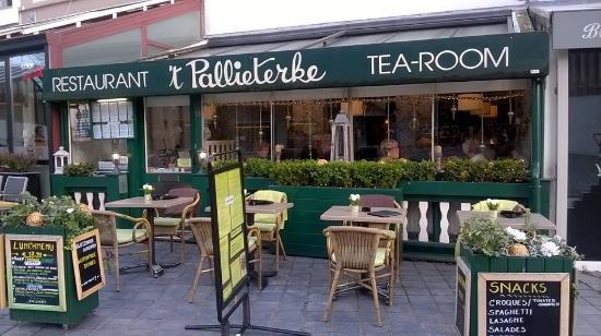 'T Pallieterke: Tearoom exterior
