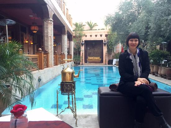 Foto de la maison arabe marrakech la piscina riscaldata - A la maison en arabe ...