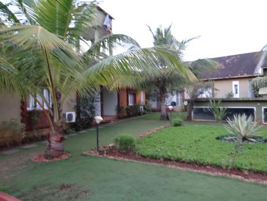 Anjuna, Indien: территория отеля