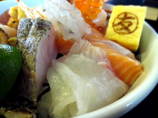 Picture of fresh fish market marutomo suisan for Suisan fish market