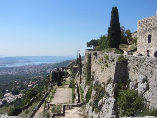 Klis Fort Kroatië