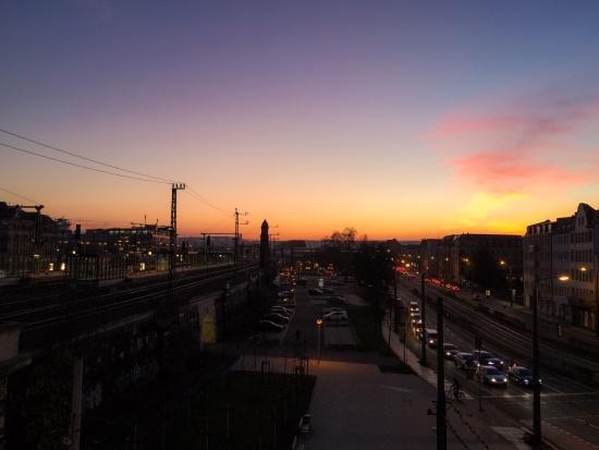 View from 5th floor no noise from the road bild von for Dresden altstadt hotel