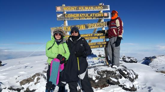 Trekking Hero Adventure - Day Tours: On top of the world - what a great life experience - had a ball.
