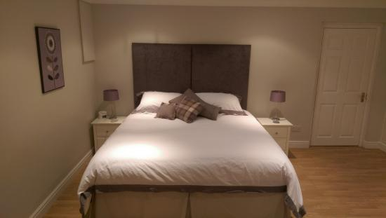 Deddington, UK: Lovely bed