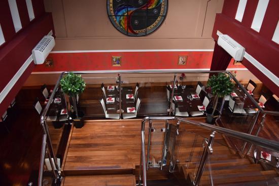 Drogheda, Irlanda: Restaurant From Above.