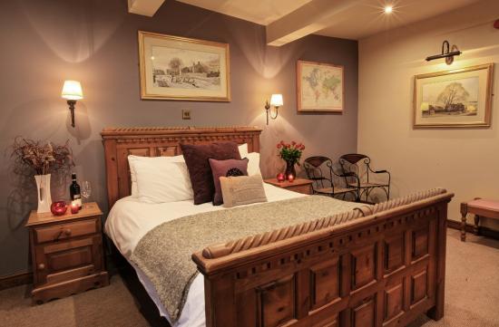 The Fleece Inn: King size room