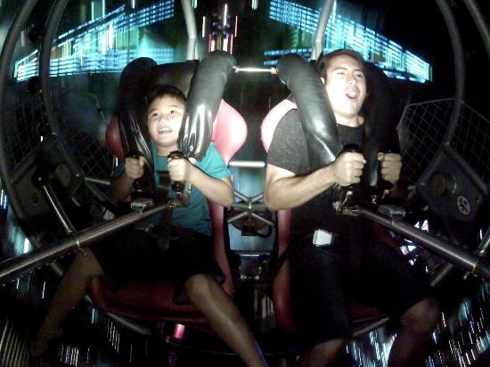 Slingshot Guam: Riding the Sling Shot Ride in Tumon, Guam