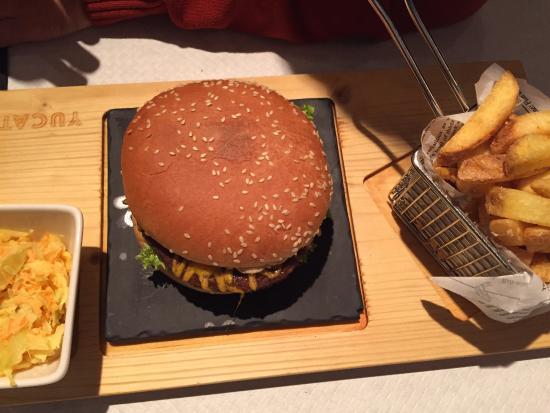 Restaurant Yucatan: Hamburger