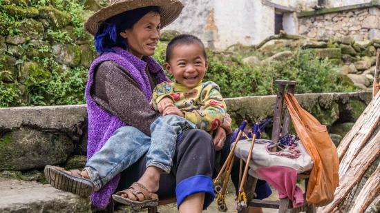 Yuanyang Pengtian: Hani people in Yuanyang