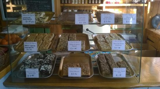 Chewton Mendip, UK: cakes