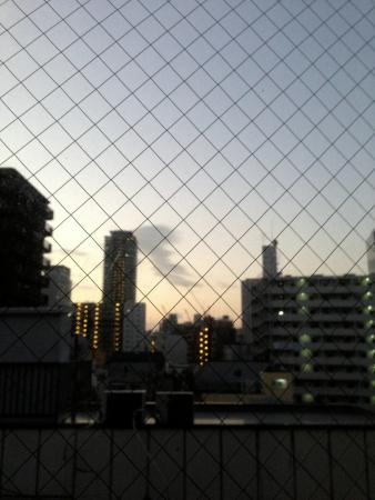 Hotel Live Max Umeda: 窓からの風景
