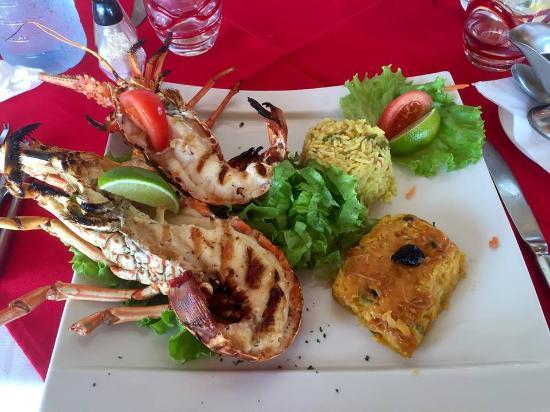 L'Azur Resto: Langouste grillée