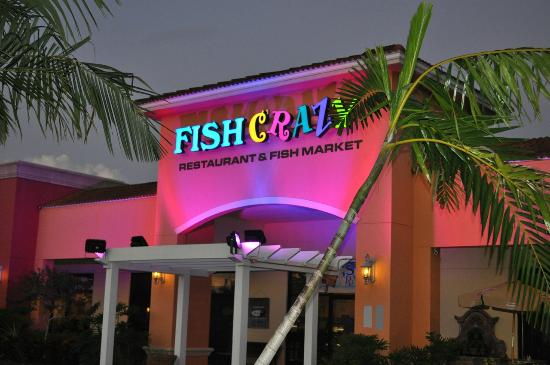 Entrance picture of fish crazy restaurant naples for Crazy fish restaurant