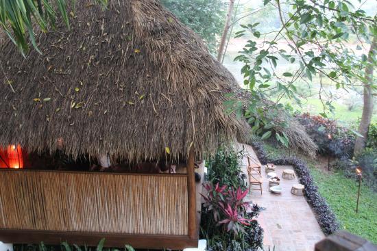 Muang La, Laos: Bungalows