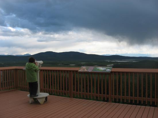Tetlin, AK: View from deck