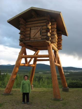 Tetlin, AK: Sample food cache