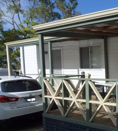 cottage with parking space picture of discovery parks swan rh tripadvisor com