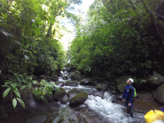 Saint-Claude, Guadeloupe: Canyoning