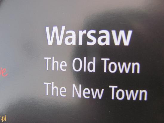 Warszawskie Centrum Informacji Turystycznej: à l'entrée