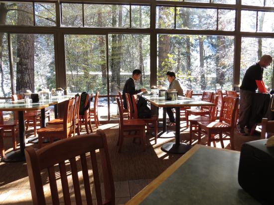 Yosemite Valley Lodge Food Court Dining