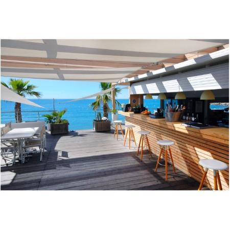 La spiaggia plage cagnes sur mer ravintola arvostelut for Garage de la plage cagnes sur mer