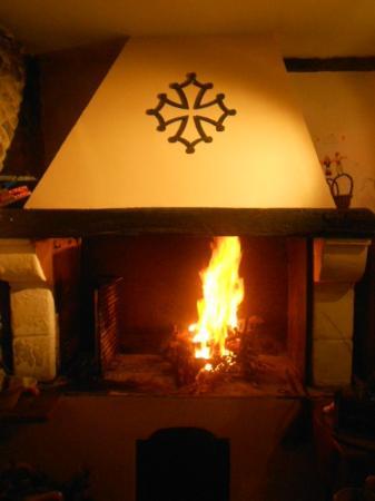 la Taverne : cheminee