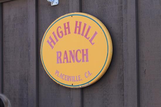 Placerville, Kalifornien: thier sign