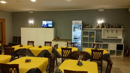 Massanzago, Italien: Sala ristorante