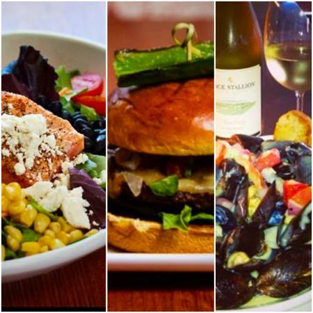 Napa Prime Burgers & Seafood: Entree's