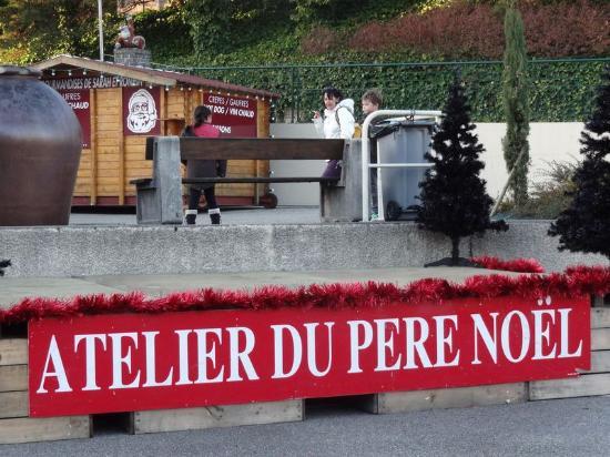 Saint-Desirat, Prancis: L'atelier du Père Noël