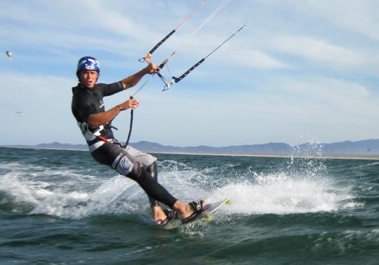 La Ventana, Messico: Kiting