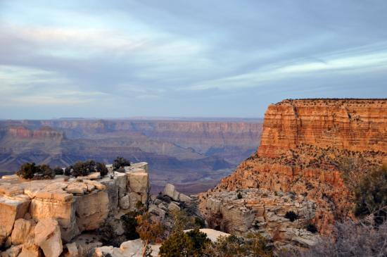 Grand Canyon taken from Moran Point /color, 400Kb/ photo - Oleg ...