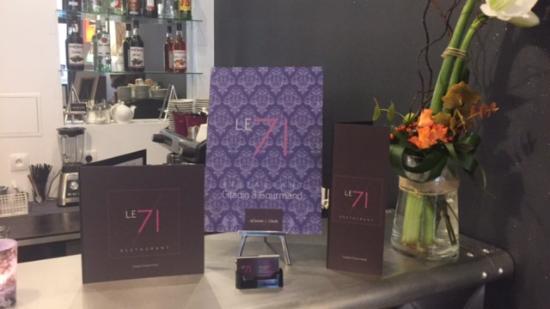 Restaurant LE 71 Lyon 6