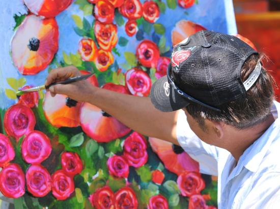 Scotts Valley Art & Wine Festival - Photo courtesy of Paul Schraub