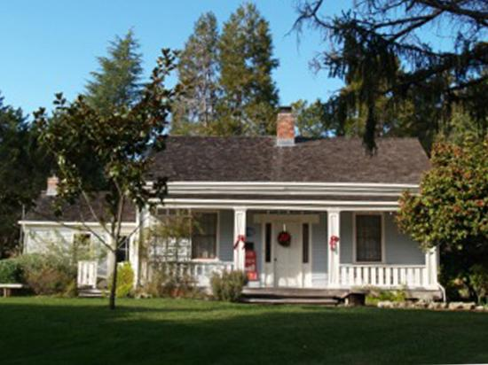 Hiram D. Scott House - Photo courtesy of Scotts Valley Historical Society