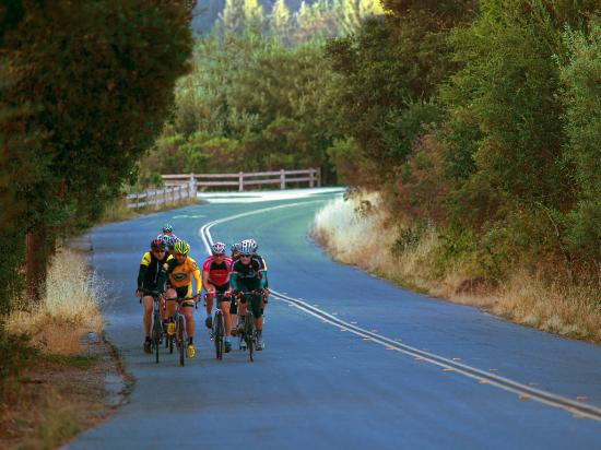 Cycling in Scotts Valley - Photo courtesy of Paul Schraub