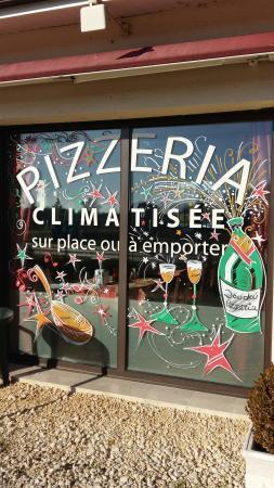 Creysse, Francia: DOUDOU Pizza
