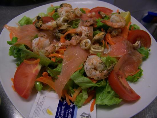 Gramat, France : salade de la mer