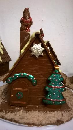 Justin Chocolatier: Christmas houses are now ready at Justins